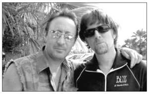 Julian Lennon with John McCurry