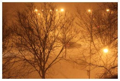 snowy Aspen streets